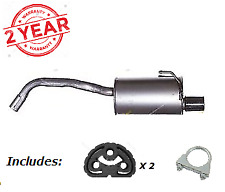 New Fiat 500 (312_) 1.2 Hatchback 2007-Onwards Rear Exhaust + Fittings FT850L