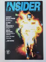 DARK HORSE INSIDER COMICS MAGAZINE #6 JUNE 1992 ROBOCOP & JAMES BOND COVERS