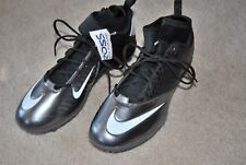 Nike Lunar Superbad Pro D Football Cleats 511328-009 Gray Black Size 14 New!