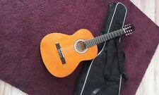 Gitarre Miguel Almeria Classic Konzertgitarre 4/4 Größe mit Tasche
