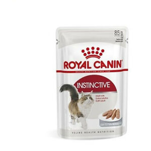 Royal Canin Instinctive 85g Of Food For Cats Bocaditos IN Sauce or Gelatin