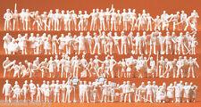 Preiser 16326 différentes professions, 120 figurines non-peintes, H0