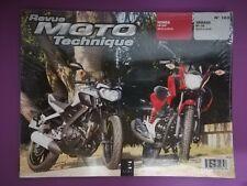 Revue Moto Technique n°183 HONDA CB 125 F & YAMAHA MT - 125 neuf sous blister