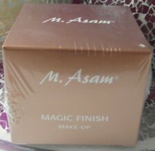 (100ml/73,30€) M.ASAM COLORS OF BEAUTY, Magic Finish, Make up 30ml ! Neu & Ovp !