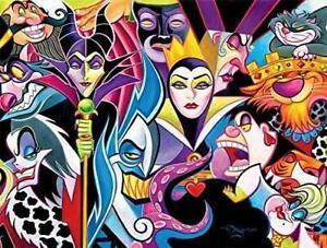 Ceaco - Disney's Villains Jigsaw Puzzle 1500 Pieces
