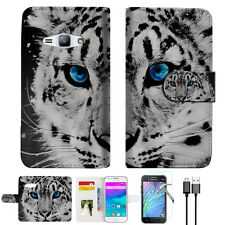Leopard Wallet Case Cover For Samsung Galaxy J16 J1 2016-- A013