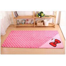 50*120cm Hello Kitty Floor Mat Rug Plush Room Baby Mat Valentine Christmas Gift