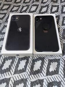 Apple iPhone 11 - 64GB - Black (Unlocked) A2221 (CDMA + GSM)
