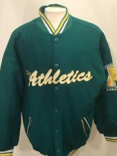 Men's Vintage NEGRO LEAGUE BASEBALL INDY ATHLETICS Wool Varsity Jacket Sz Xl
