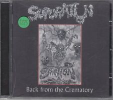SUPURATION - back from the crematory CD