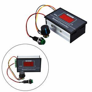 DC6-60V 12V 24V 36V 48V 30A PWM DC Motor Speed Controller Start Stop Switch EH