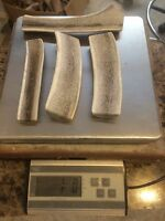 Huge SALE!! 1 LB Of Bargain Bones Split Elk & Deer Antler Dog Chew Mix-M/L