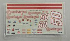 New Sealed Nascar Decals A.J. Foyt Jr. #50 Copenhagen Thunderbird Decals