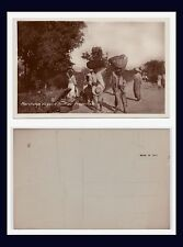 CARIBBEAN HAITI PORT AU PRINCE MARCHANDS DE PAINS BREAD SELLERS REAL PHOTO
