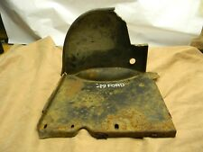 1949 49 Ford Floor pan-firewall access Cover