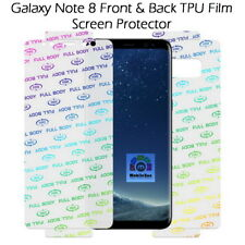 BestSuit Samsung Galaxy Note 8 Front Back TPU Film Screen Guard Protector