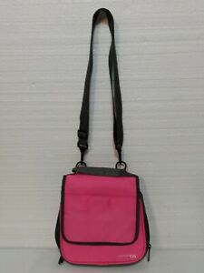 Nintendo DF Carry Case Multiple Compartments Adjustable Strap Pink