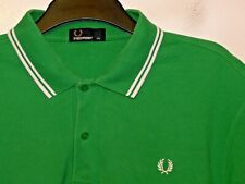 """Fred Perry regular fit twin tipped polo shirt M1200 XXL 2XL 50"""" chest F530"""