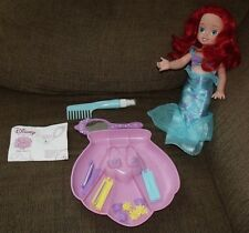 Disney Princess Little Ariel Crazy Curls Doll Styling Set Playmates Rare HTF