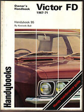 Vauxhall Victor FD 2000 VX4/90 1967-71 Owners Handbook Autobooks Handybook No 95