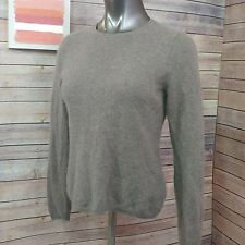 Charter Club luxury cashmere petite womens PM long sleeve cashmere sweater