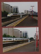 Vauxhall Railway Station, Eurostar Train  12.07. 1996   photographs dc60