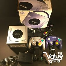 Nintendo GameCube Limited Edition Platinum Console - With Controllers & Cords