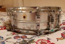 Vintage Ludwig Acrolite Snare Drum. 1966.