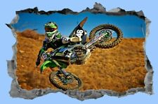 Motorbike,3D,Sticker,Motorcycle,Decal,Dirtbike,Racing,Wall Art,Sports,Decor