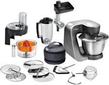 Bosch MUM57860 Küchenmaschine, 900 W, 3D Rührsystem & EasyArmLift, mystic black