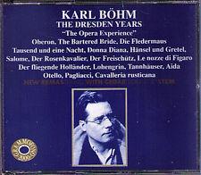 Karl Böhm the Dresda years opera experience 2cd Reznicek Verdi Wagner Weber