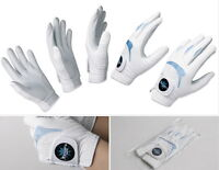 PROMO Brand Men's golf glove 6Packs Sheepskin & Microfiber Durable + Ball marker