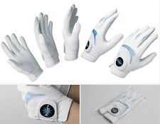 Men's golf glove 6 Packs + Free gift Sheepskin & Microfiber fabric Durable B -DC