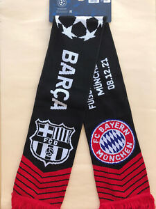 Begegnungsschal Champions League FC Bayern München - FC Barcelona Gruppe 21/22