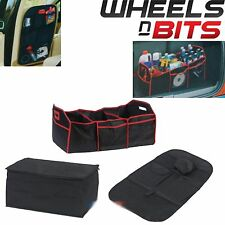 NEW 3 Pack Car Seat & Boot Organizer Set with a Cooler bag Colapsible Trunk tidy