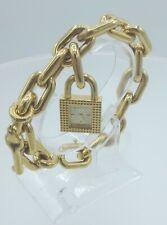 Burberry BU5232 Swiss made ladies key chain watch gold colors BU-5232 3 ATM
