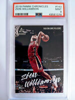 2019 Luminance ZION WILLIAMSON rookie RC card Pelicans Mint PSA 9