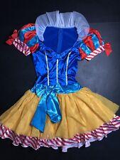 Snow White Sexy Tutu Costume Halloween Fairest Princess LARGE NEW