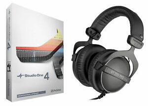 Presonus Studio One 4 Pro Upgrade from Artist/Producer+Beyerdynamic Headphones