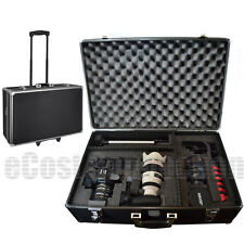 Large Hard Case w/ Wheels for Canon T2i T3i T4i | Camera / Camcorder, bag