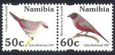Namibia 1997 Birds/Nature/Wildlife/Waxbills bklt pr (n25700)