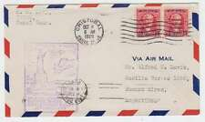 C4613: 1929 Canal Zone to Argentina First Flight Cover