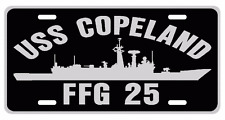 USS COPELAND FFG 25 License Plate Military sign USN US Navy 001