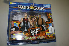 WWE/WWF JAKKS KING OF THE RING GRUDGE MATCH STONE COLD STEVE AUSTIN & THE ROCK