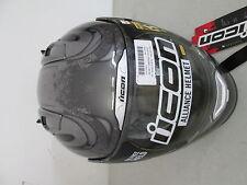 Icon Helmet Full Face Threshold Silver XXL 2X 0101-5423 NEW NOS Loc 1328