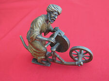 "Very Nice Vienna Bronze - The sharpener"" Unsigned decorative figure (#325)"