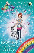 Savannah the Zebra Fairy: The Baby Animal Rescue Fairies: Book 4 by Daisy Meadow