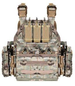 Tactical Vest Curved Level 3 Bulletproof Plates