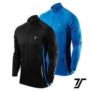 TCA Men's Winter Run Half-Zip Long Sleeve Running / Training Top