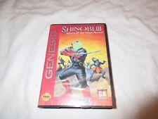 Shinobi III: Return of the Ninja Master (Sega Genesis, 1993) No Instructions BIN